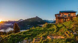 Gamshuette, Zillertaler Alpen