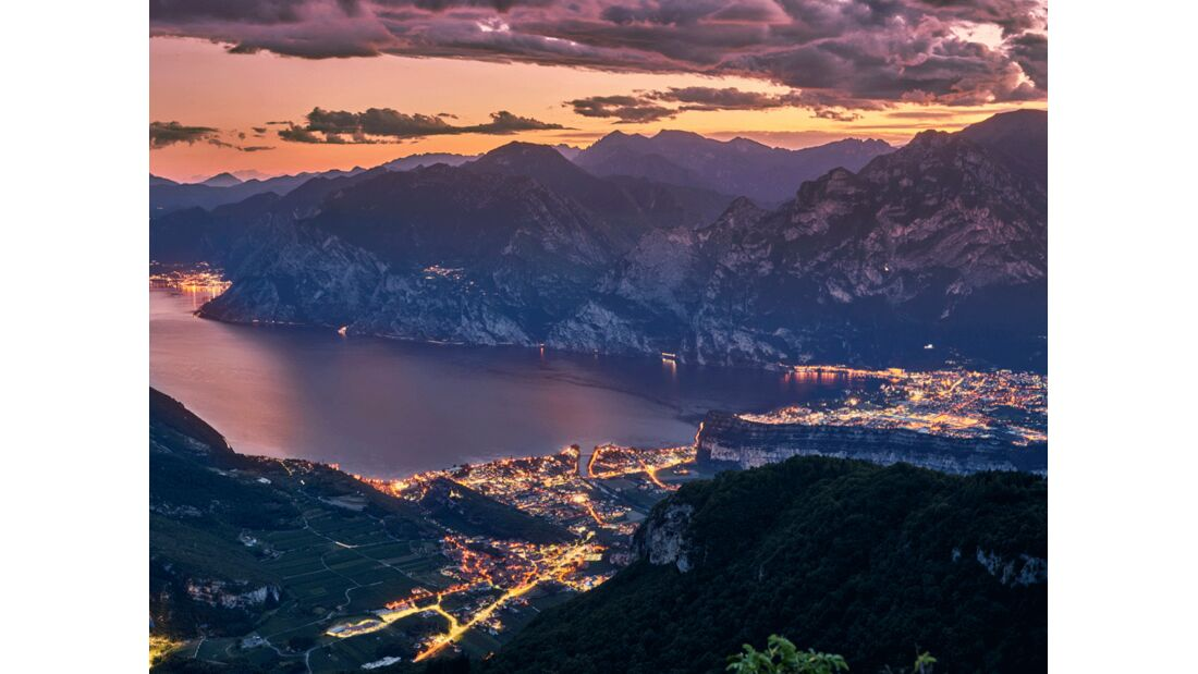 Garda Trentino - Nago,Torbole - Panorama