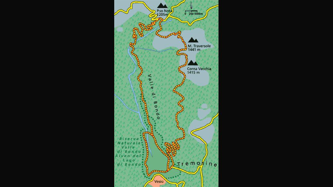 Gardasee Tour 4 Karte