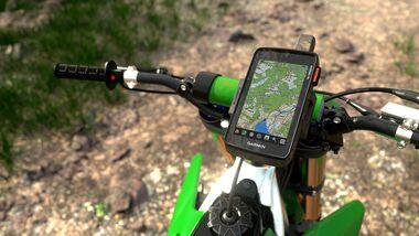 Garmin Montana 750i - Navigationsgerät - GPS - Bike