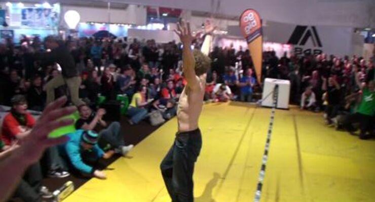 Gibbon Slackline-Contest ISPO 2010