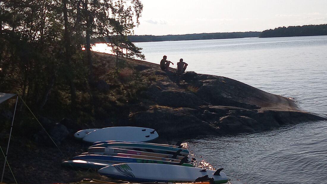 Gobackpack-Camp Schweden 2019