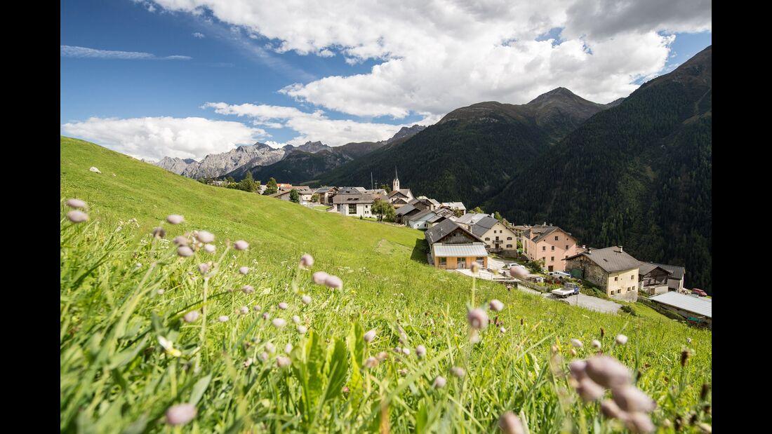 Guarda, Graubünden, Schweiz