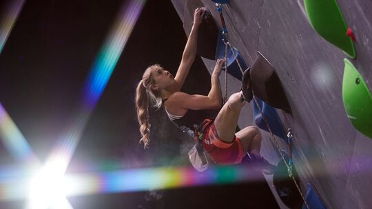 Hannah Meul bei der EM Moskau 2020