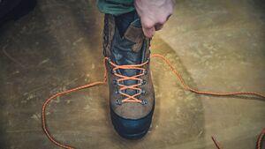 Hanwag Advertorial Teil 2: Schuhe richtig schnüren