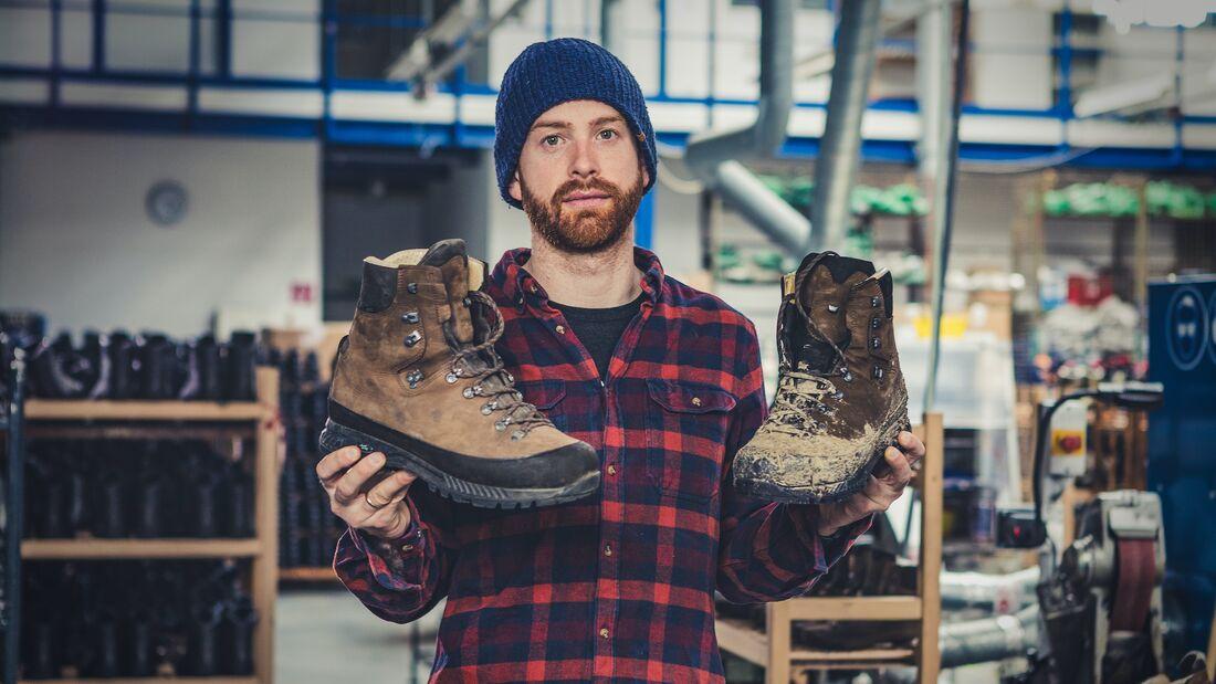 Hanwag Schuhpflegetipps