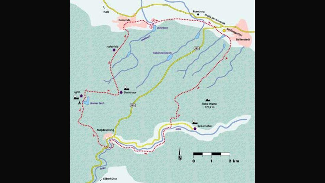 Harz Tour 5 Karte