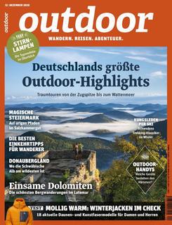 Heft Cover Ausgabe 12/2020; Wengelnburg Pfalz