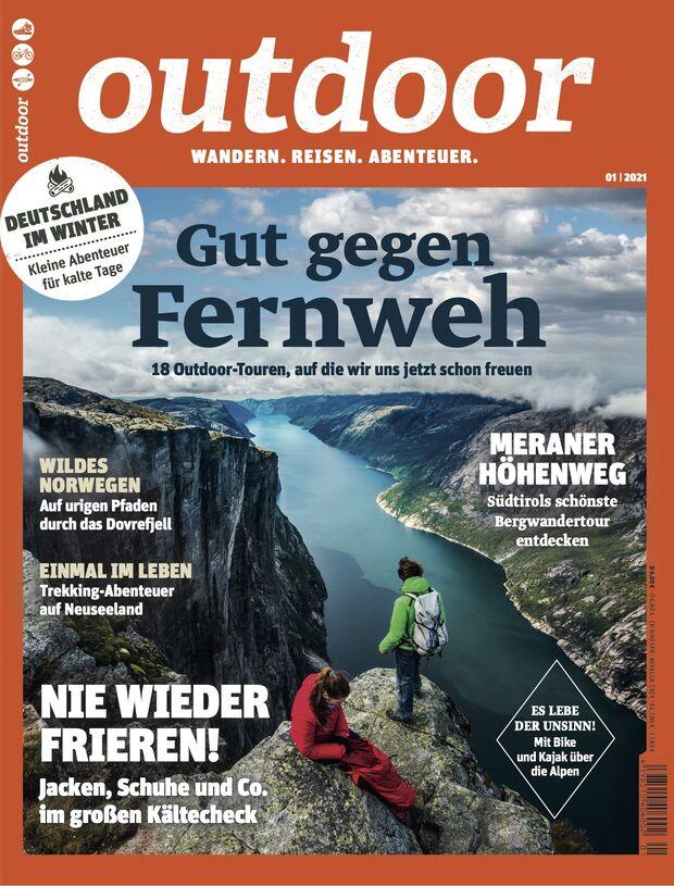 Heftcover Ausgabe 2021/01, Kjerag, Norway