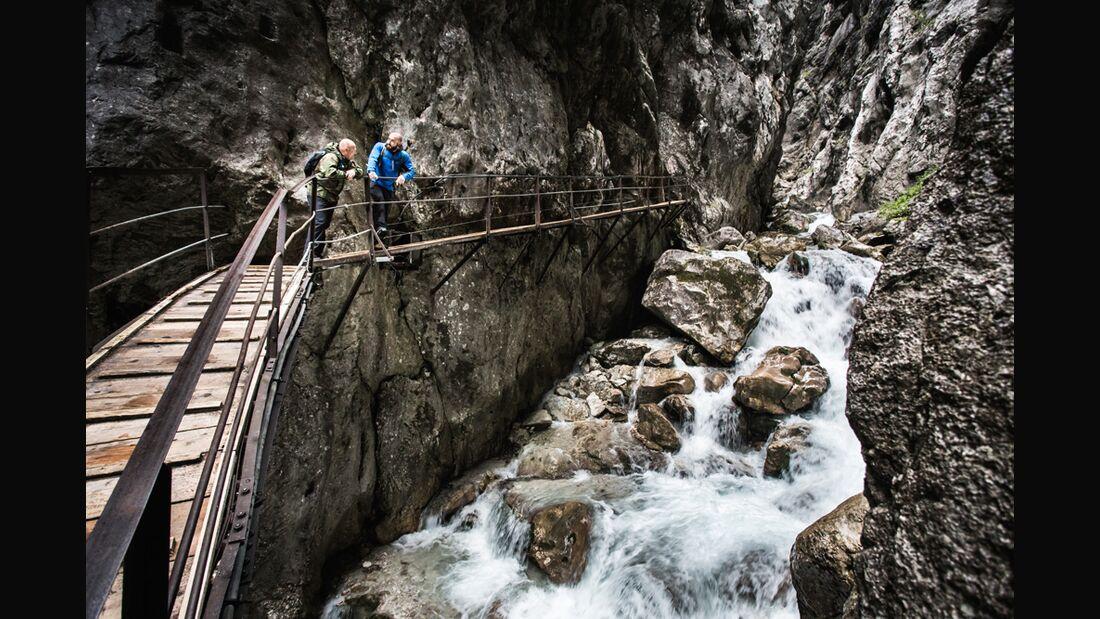 Höllental Klettersteig Zugspitze