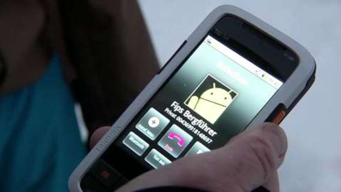 ISPO 2012: Outdoor-Smartphone Takwak tw 700