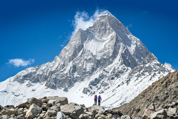 Indien - Mount Shivling