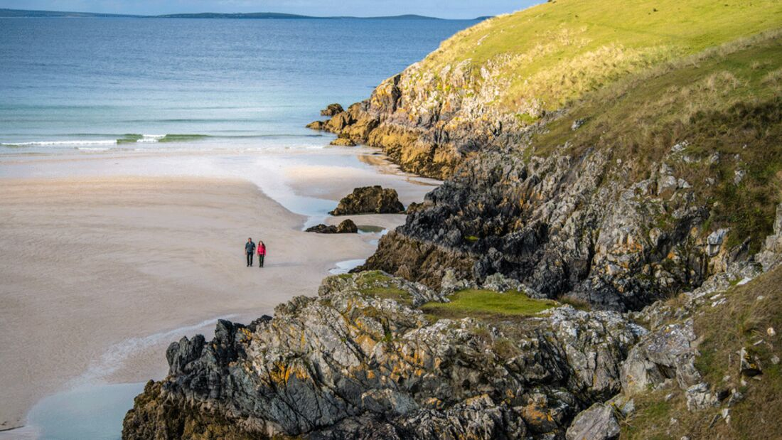 Irland - County Donegal- Tramore Bay