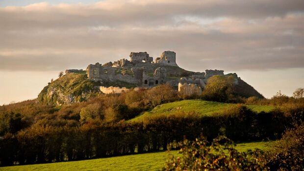 Irland Osten, Rock of Dunamase, Slieve Blooms