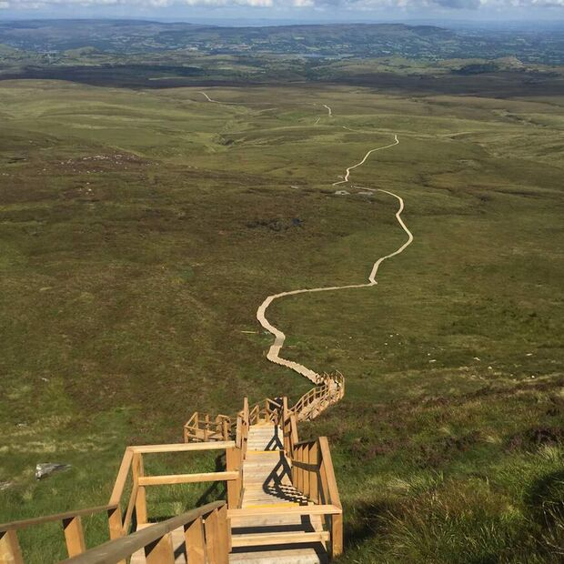 Irland: Stairway-to-heaven, Cuilcagh