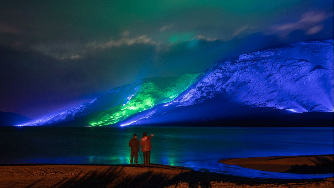 Irlands Connemara Mountains
