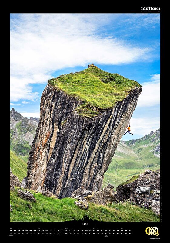 KL 2016 Kalender Best of Klettern 2017 Mai