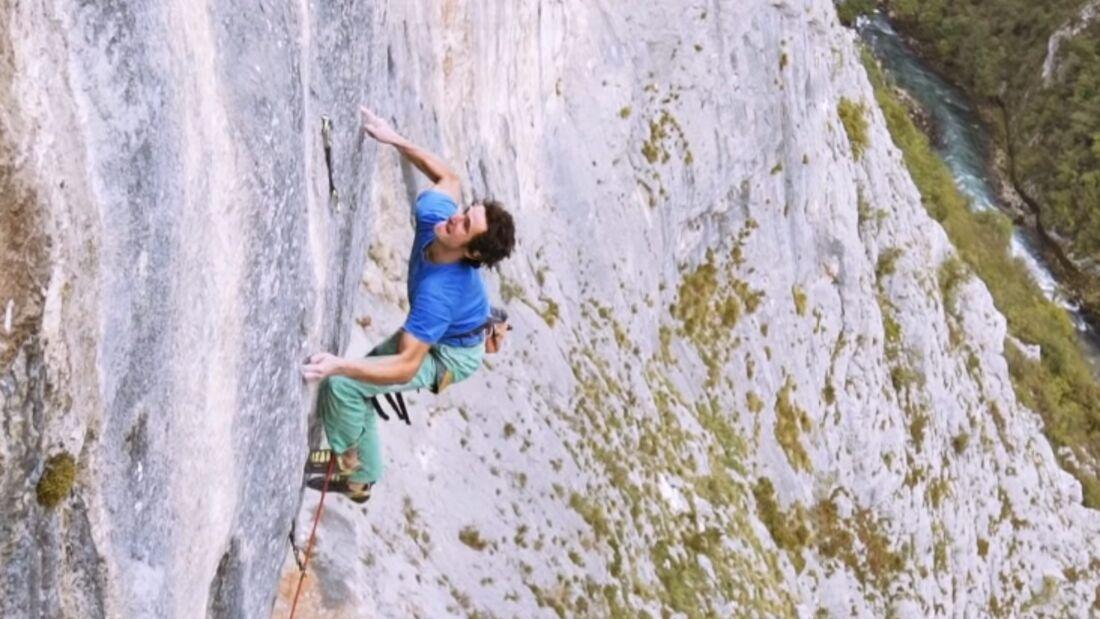 KL Adam Ondra Balkan trip The Dream 9b