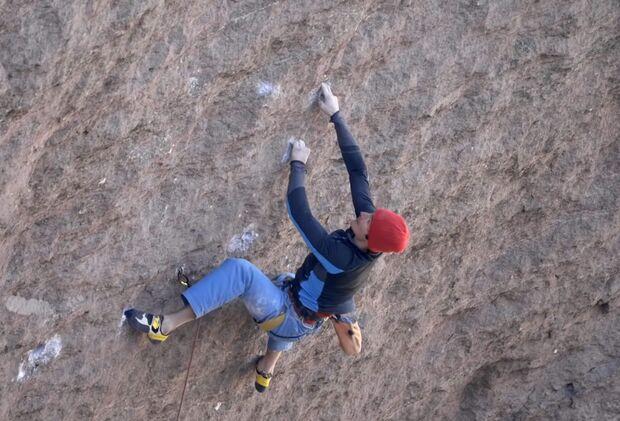 KL Adam Ondra klettert Just do it onsight