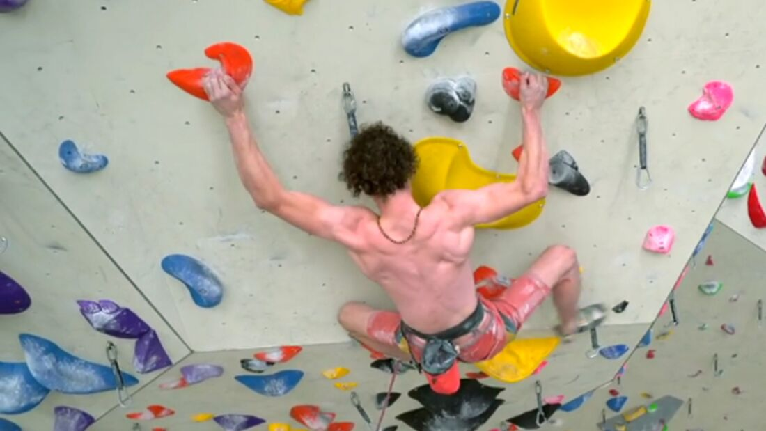 KL Adam Ondra trainiert für Olympia 2020 teaser