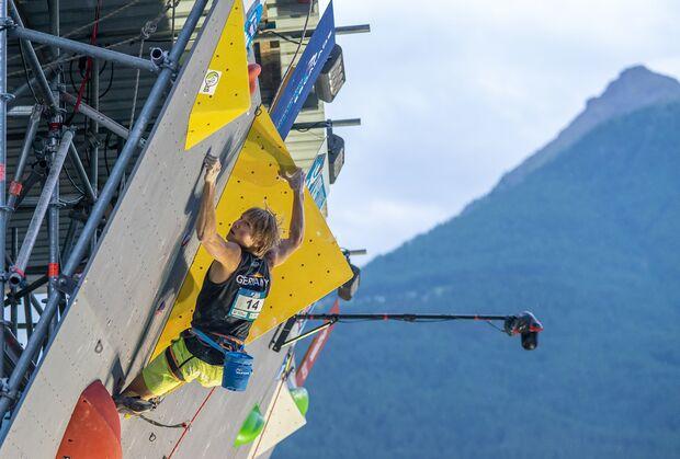 KL Alexander Megos gewinnt Lead-Weltcup Briancon 2018