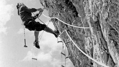 KL Alpenarchiv: Kletterer in den 50er Jahren