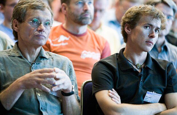 KL Bernd Arnold und Daniel Gebel Bergschau