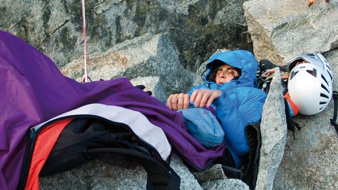 KL Biwak: Josune Bereziartu am Walkerpfeiler