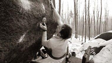 KL Bouldern im Winter von Georg Lenz