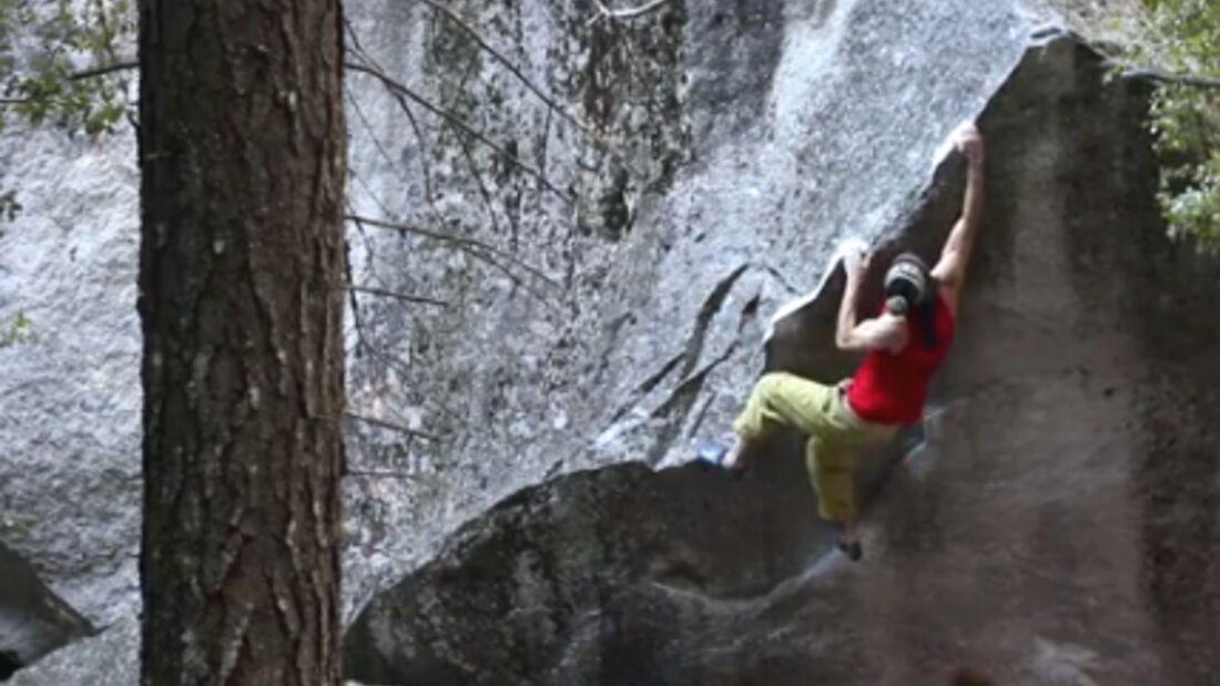 KL Bouldern in Yosemite