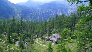 KL Bouldern in den Alpen - Refugio Levi - Susa