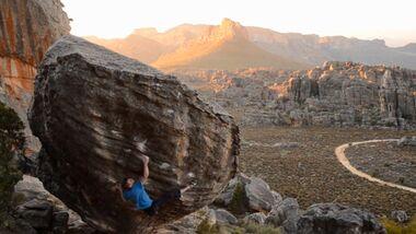KL Bouldern in den Rocklands, Südafrika