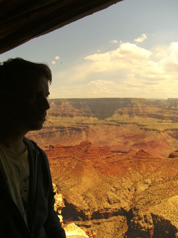 KL CEWE Fotowettbewerb 2013 Leserfotos Jochen Wied - Lesertext: Am Abgrund... Living on the edge. Am South Rim des Grand Canyon, (Grand Canyon Nationalpark, Arizona, USA) neu