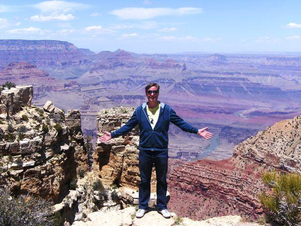 KL CEWE Fotowettbewerb 2013 Leserfotos Jochen Wied - Lesertext: Am Abgrund... Living on the edge. Am South Rim des Grand Canyon, (Grand Canyon Nationalpark, Arizona, USA) x neu