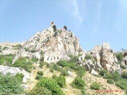 KL CEWE Fotowettbewerb 2013 Leserfotos Manfred Nothwang - Lesertext: Zypern bietet tolle Klettermöglichkeiten! Die Fotos zeigen St. Hilarion - einmal von unten und einmal den Blick von oben. neu