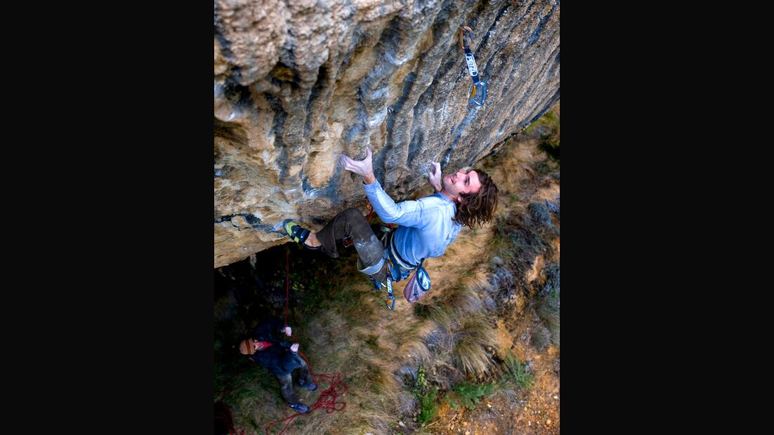 KL Chris Sharma First Round First Minute Margalef