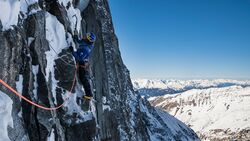 KL David Lama Sagzahn Verschneidung Erstbegehung Valsertal