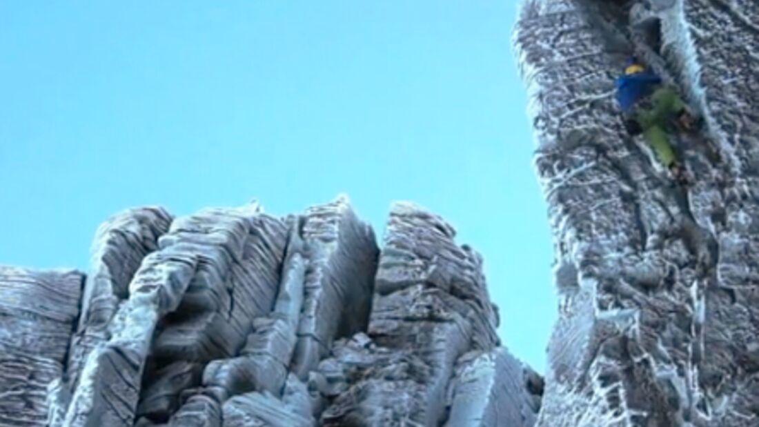 KL Eisklettern Winterklettern in Schottland, Cairngorms