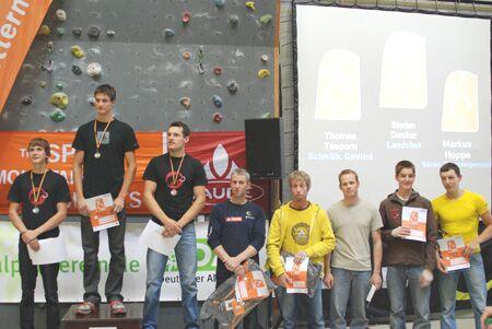 KL Finalteilnehmer Sportklettercup Forchheim