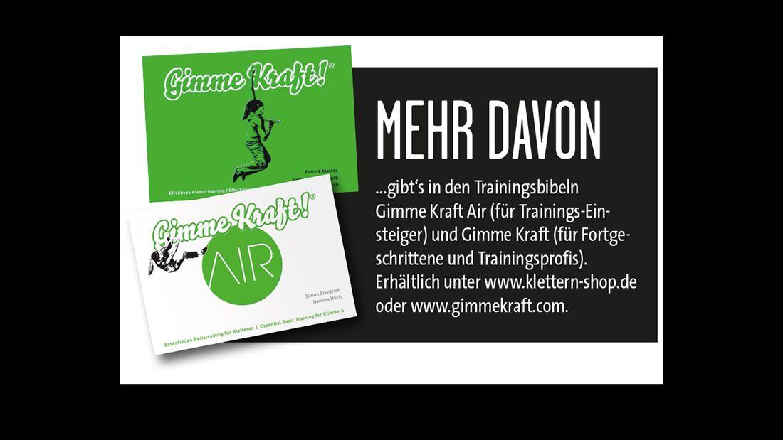 KL Gimme Kraft Kletter-Training Trainingstools