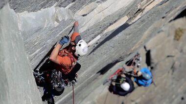 KL Gimp Monkeys von Arcteryx - erste behinderte Seilschaft klettert El Capitan im Yosemite