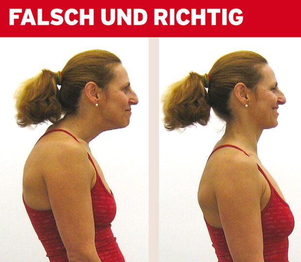 KL Halswirbelsaeule - Haltung