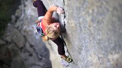 KL Hazel Findlay climbs The Doors Cadarese teaser