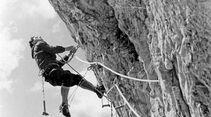 KL Historisches Alpenarchiv - Kletterer in den 50ern