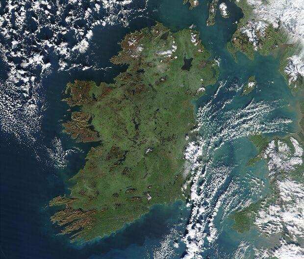 KL Irland Satellitenbild