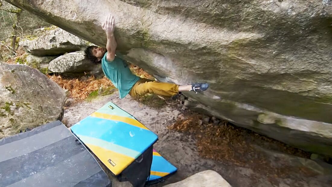 KL Jimmy Webb The big Island 8C Fontainebleau Video