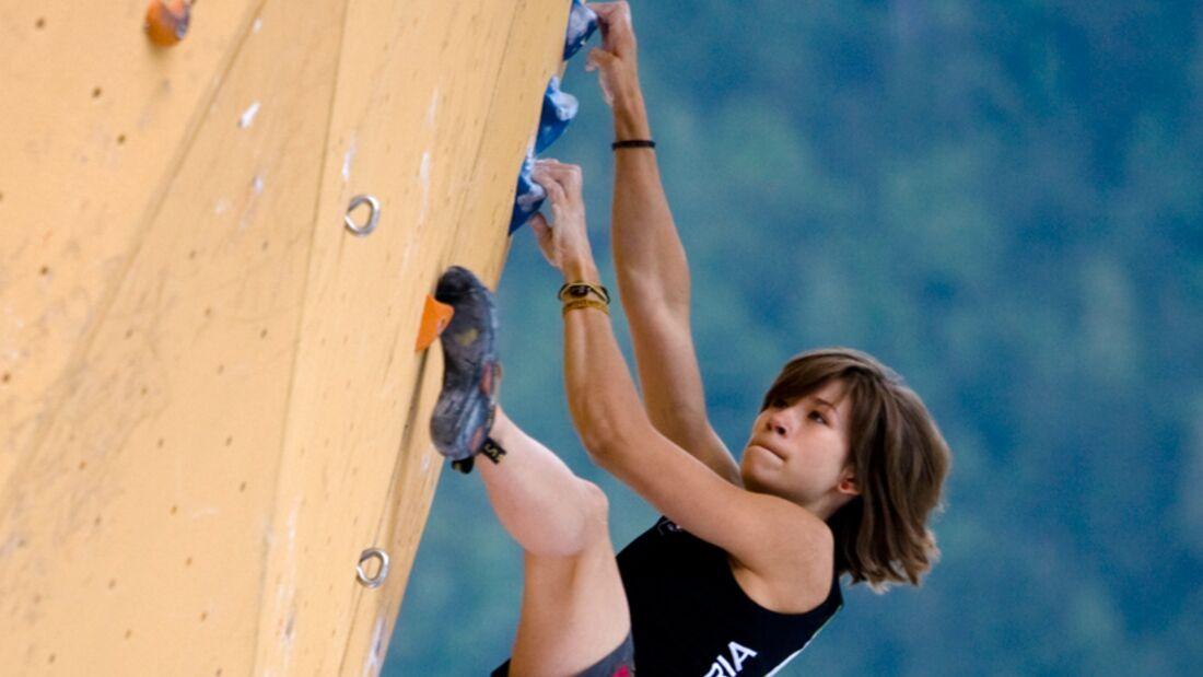 KL Johanna Ernst in Chamonix