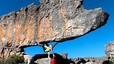 KL Julia Winter bouldert in den Rocklands - Cederberg Spezial Teaserbild