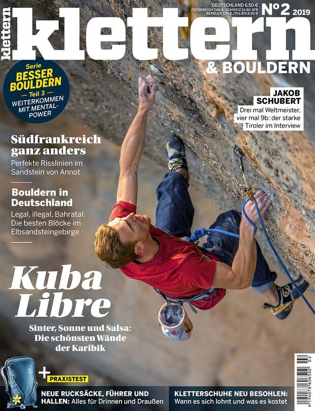 KL KLETTERN Magazin Titel 02-2019