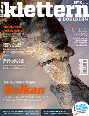 KL KLETTERN Magazin Titel 03-2019